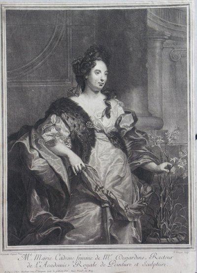 1684 - Marie Cadenne (gr. Drevet, 1689)