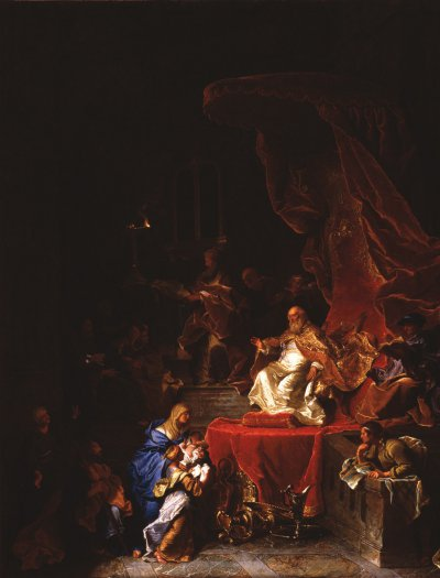 1743 - La Présentation au temple (Louvre)
