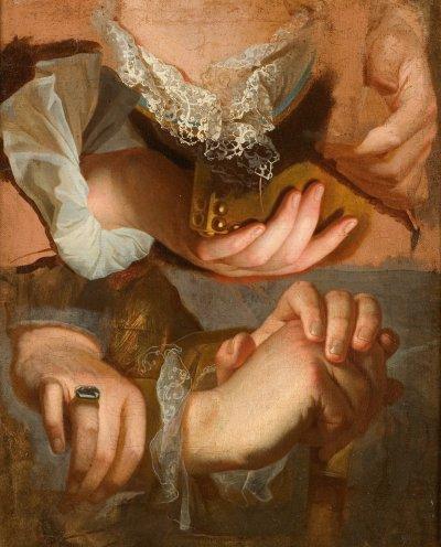 1715 (v.) - Etudes de mains (Montpellier)
