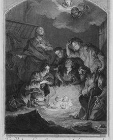1688 - La Nativité (gr. Drevet)