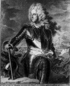 1709 - Charles III Ferdinand de Gonzague, duc de Mantoue (dessin)